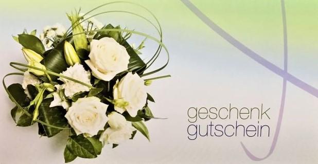 Geschenk Gutschein Blumen Vanecek